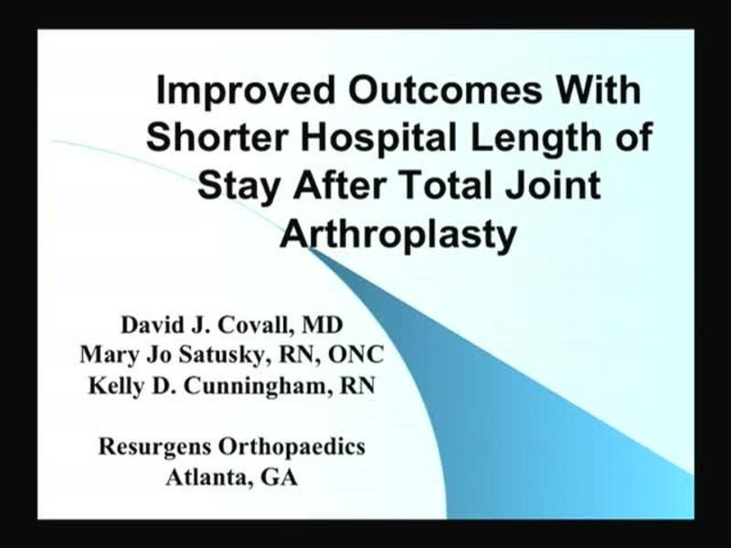 Improved Outcomes With Shorter Hospital Length of Stay After
