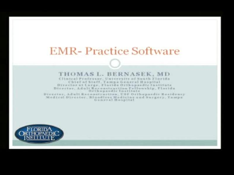 EMR - Practice Software