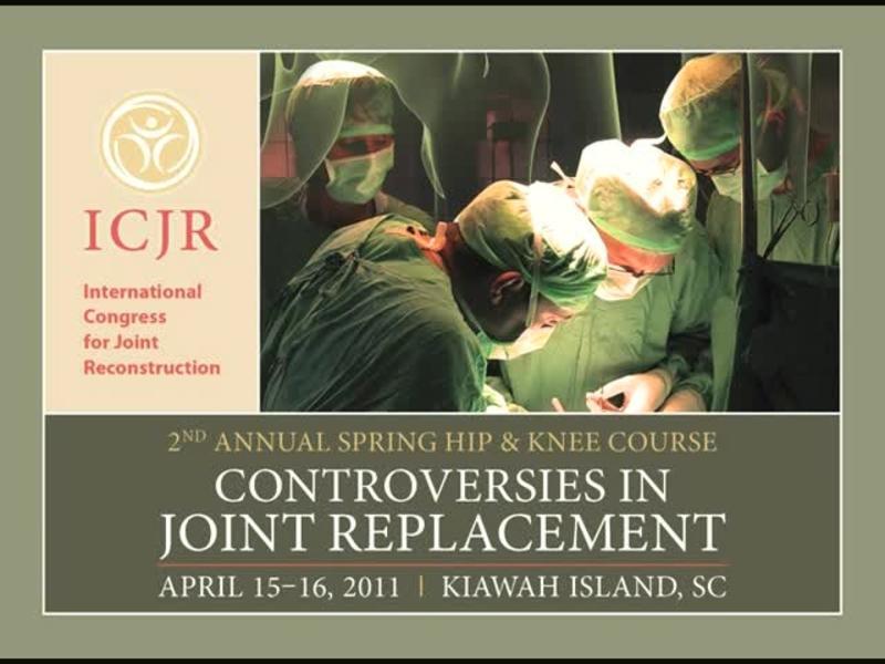 Peri-Operative Pain Management Following Total Knee Arthropl