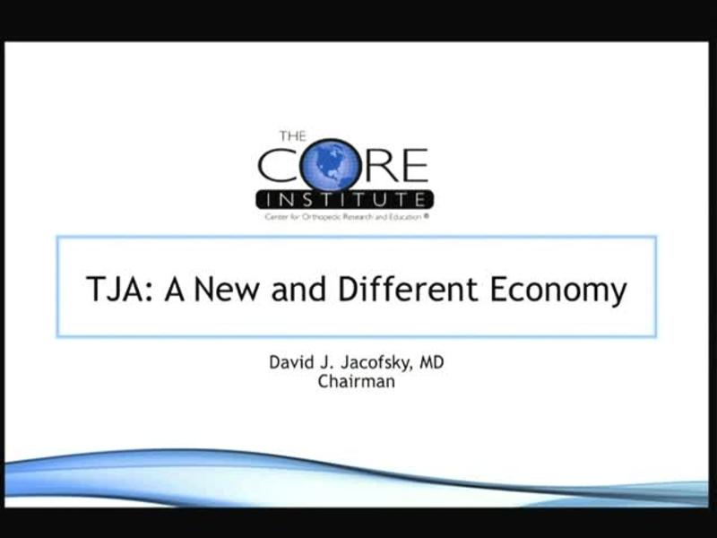 TJA - A New and Different Economy