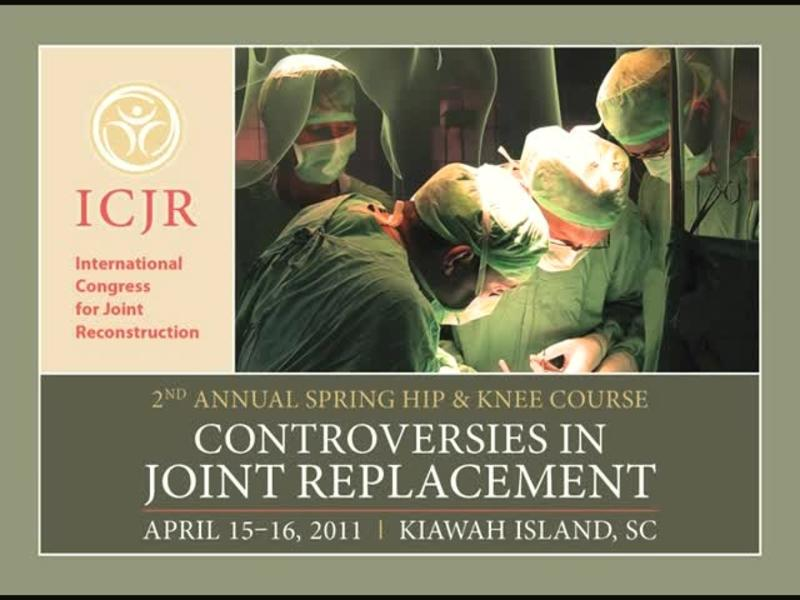 Hip Resurfacing - A Niche Procedure Only