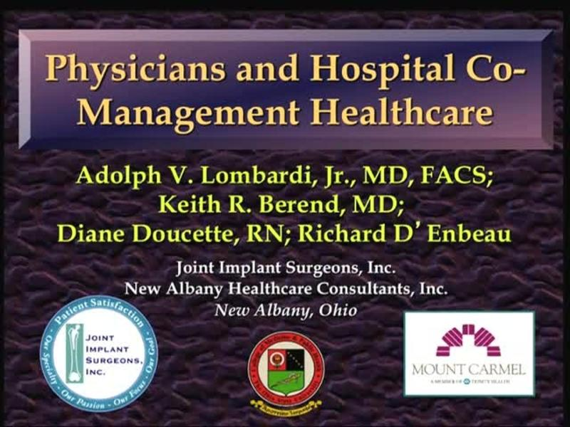 Physicians and Hospital Co-Management Healthcare