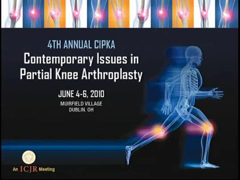 DVT Prophylaxis for Partial Knee Arthroplasty