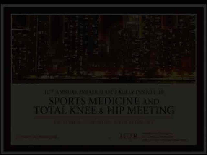 Evaluation of the Problematic Knee