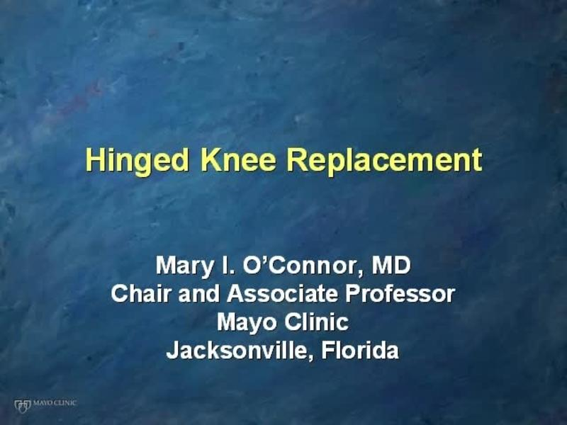 Revision TKA - Results With a Hinged Megaprosthesis