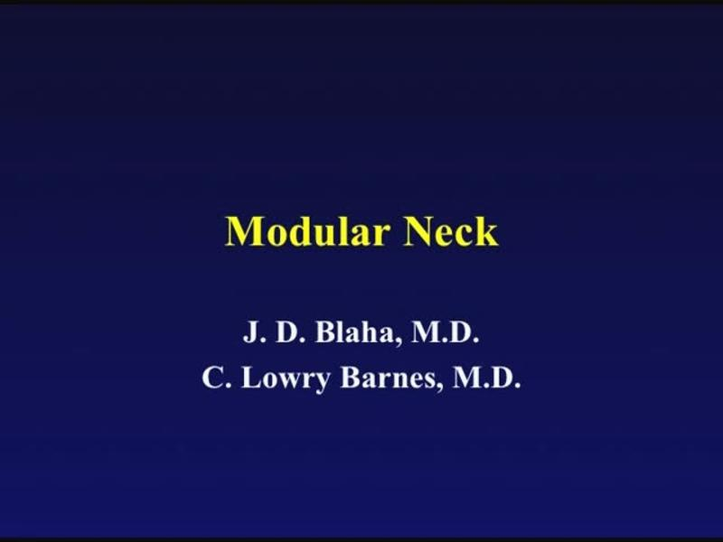 Modular Neck