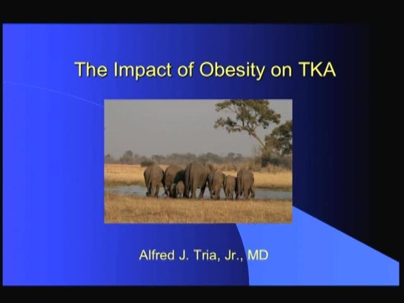 The Impact of Obesity on TKA