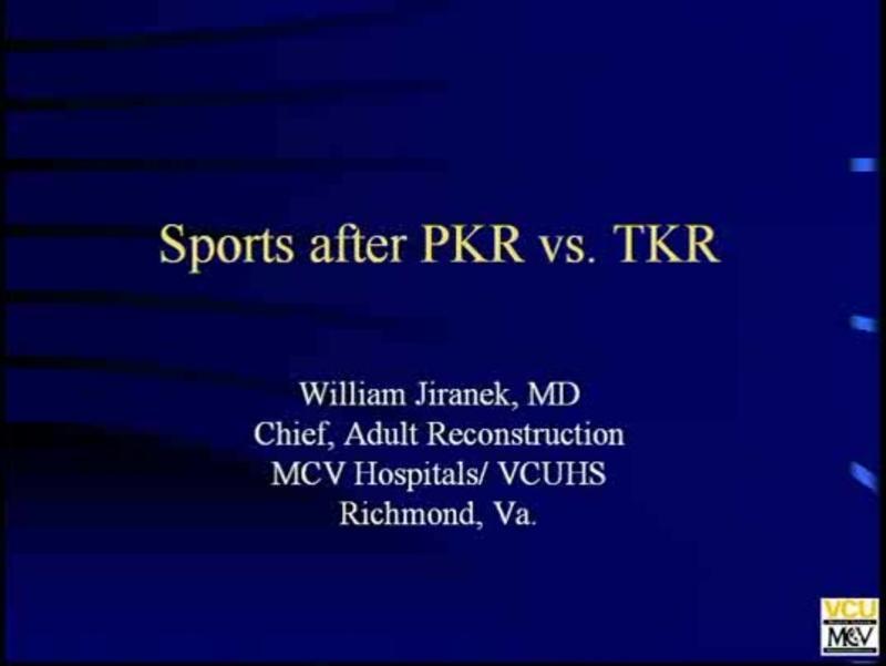 Sports after PKR vs TKR