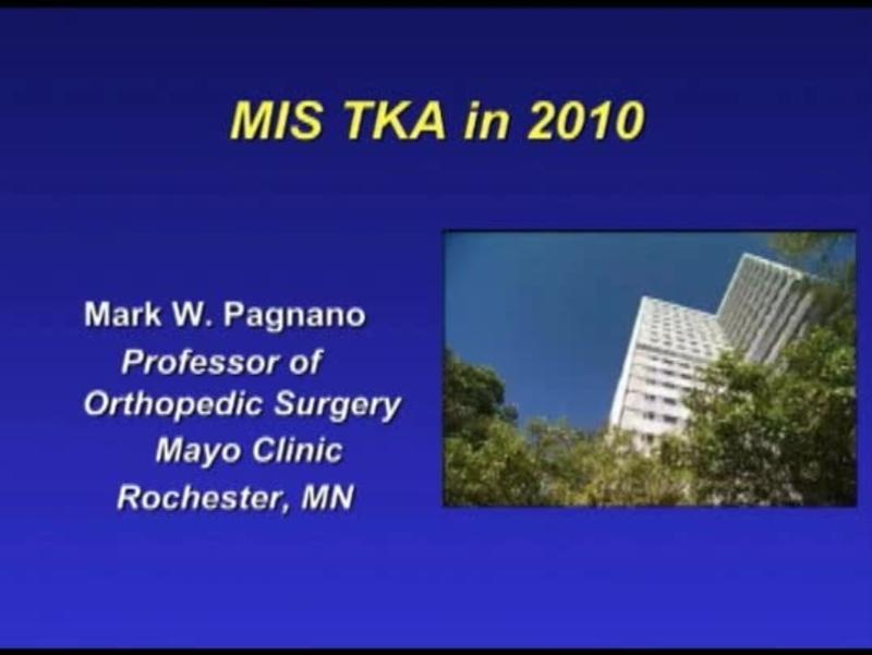 MIS TKA in 2010