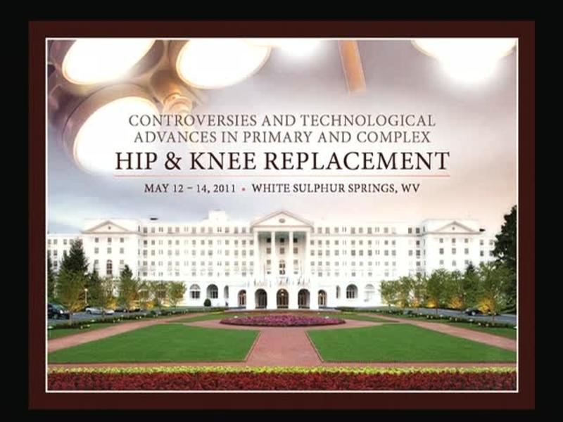 Bilateral Total Knee Arthroplasty