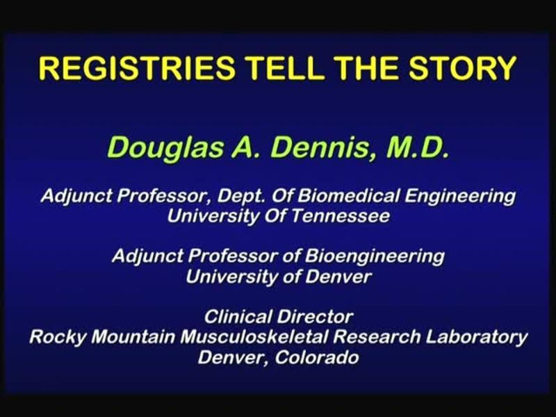 Registries Tell the Story