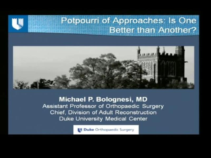 Potpourri of Approaches - Is One Better Than Another
