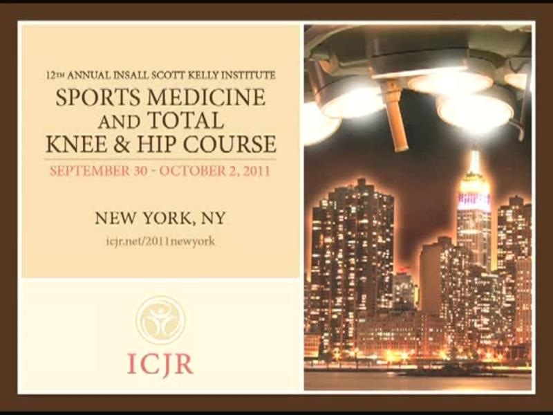 Revision ACL Reconstruction - University of Pittsburgh Exper
