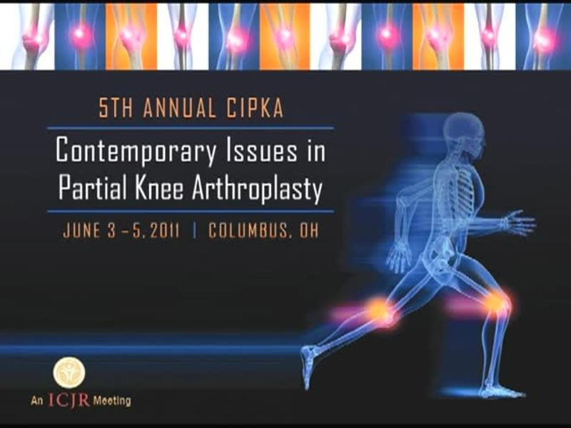 Why Perform UKA - Making the Leap from Arthroscopy to Arthro