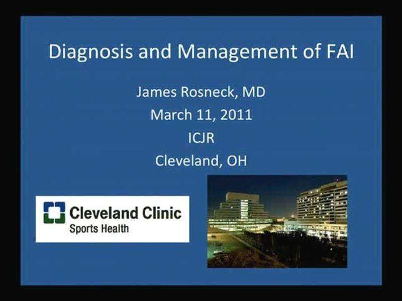 Diagnosis and Management of FAI