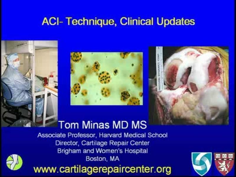 ACI- Technique, Clinical Updates