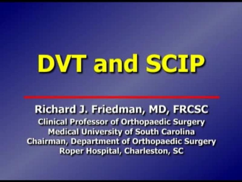 DVT and SCIP