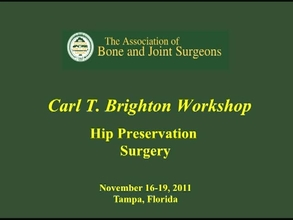 Multicenter Collaboration to Improve Hip Preservation Outcom